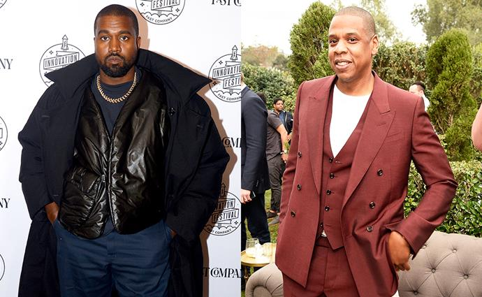 "**Kanye West** <br> *Former celebrity employer:* Jay-Z <br><br> Way back in the '00s, Kanye West moved from Chicago to New York [to work for Jay-Z](https://www.biography.com/musician/kanye-west|target=""_blank""