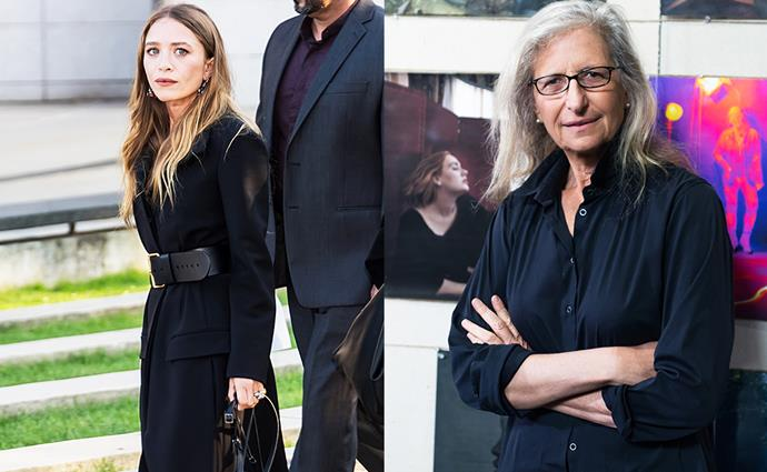 **Mary-Kate Olsen** <br> Former celebrity employer: Annie Leibowitz <br><br> Along with her twin sister, Mary-Kate Olsen was known for her iconic role in *Full House*, however she chose to try her luck with love for photography by interning for Annie Leibowitz in 2005.