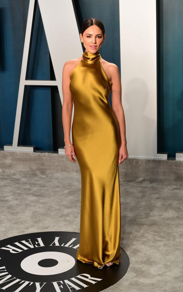 Eiza González attending the Vanity Fair Oscar Party in 2020.