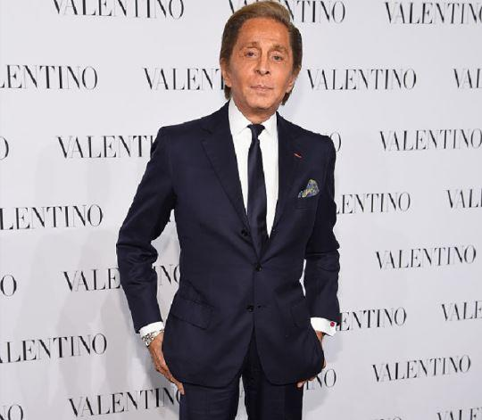 **Valentino Garavani** <br><br> Though he's no longer the creative director of Valentino, Garavani is still one of the fashion world's best-known faces, and spends the majority of his time at his countryside maison in France (where he coincidentally hosted Kim Kardashian and Kanye West for their pre-wedding brunch). <br><br> **Net worth:** $2.06 billion AUD