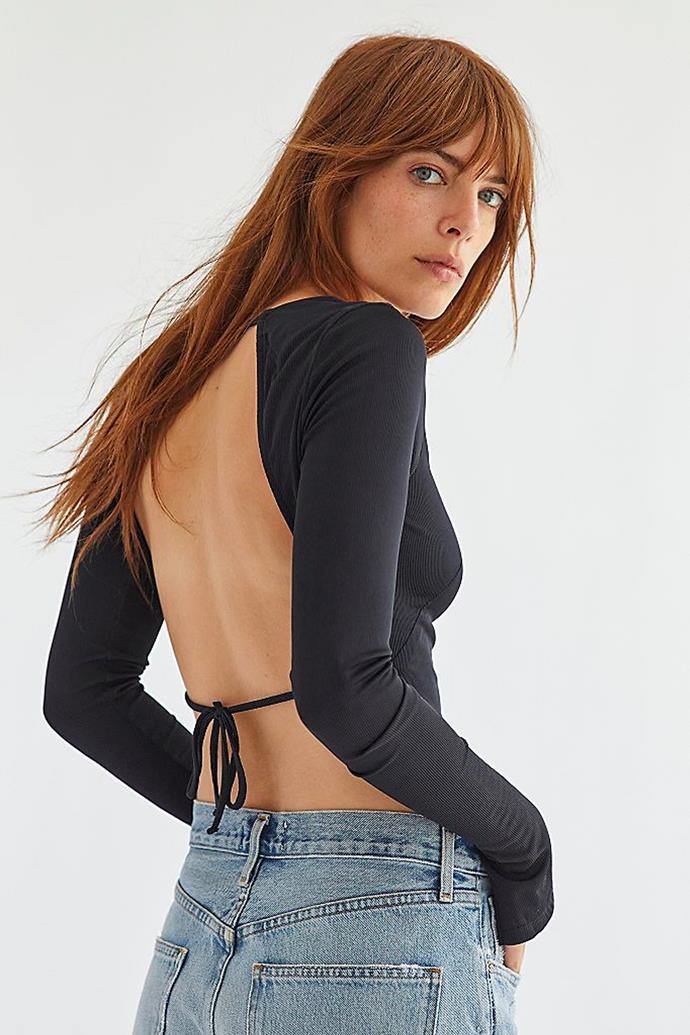 """'Lady In Love Crop' by Intimately, $48 at [Free People](https://www.freepeople.com/shop/lady-in-love-crop/?category=SEARCHRESULTS&color=001&searchparams=q%3Dlady%2520in%2520love&type=REGULAR&quantity=1