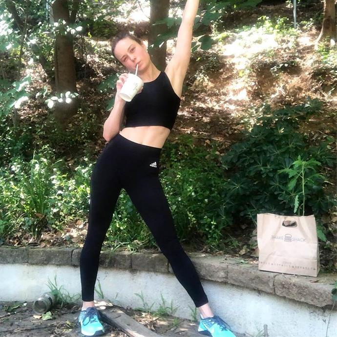 """***'A little fat and a little sugar' is your friend***<br><br> While most people doing high-intensity training would avoid things like sugar and fat, Dr Goglia made it part of the routine. According to *[People](https://people.com/bodies/brie-larson-diet-helped-her-gain-muscle/