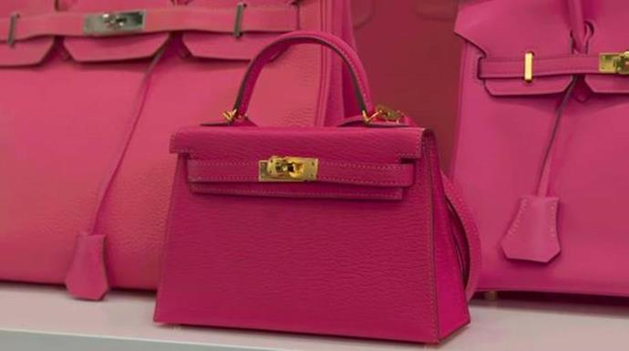 """**Kylie Jenner** <br><br> In the same YouTube video, Jenner showed off a micro Hermès Kelly handbag (a slightly less curvature variation of the Birkin, named after Grace Kelly), and said: """"This one I'm definitely going to let Stormi wear, probably, when she says, 'Mommy, I want to carry a purse.' So this is probably going to be her first purse."""" The cost? An eye-watering $30,000."""