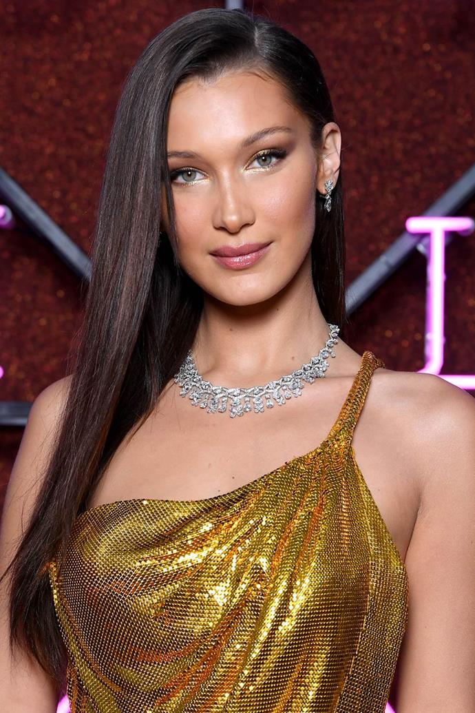 **Bella Hadid** <br><br> Born Isabella Khair Hadid, the 24-year-old model nixed her middle name, and shortened her first name once she entered the industry.
