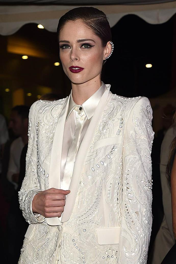 """<strong>Coco Rocha</strong> <br>The Canadian supermodel was born Mikhaila Rocha, but her mother nicknamed her Mon petit Coco - and """"from kindergarten it became my name,"""" she says."""