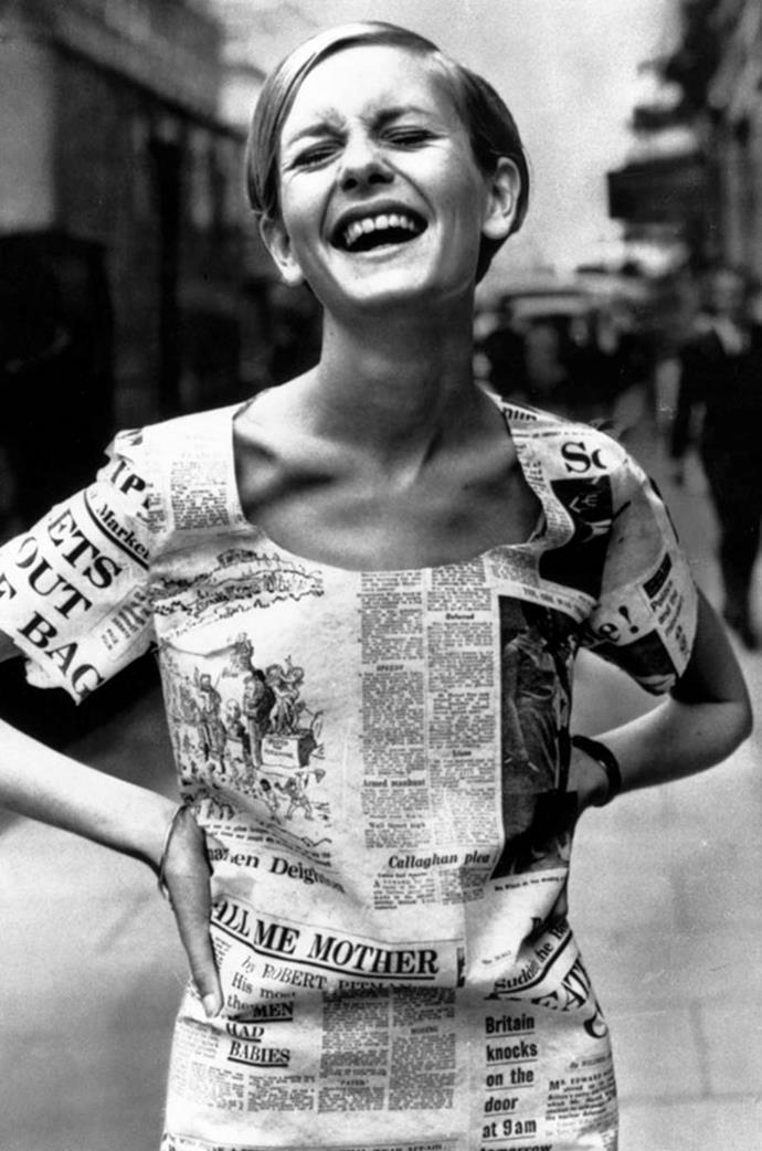 <strong>Twiggy</strong> <br>The '60s icon was born Lesley Hornby, but her famously thin physique earnt her the nickname Twiggy.