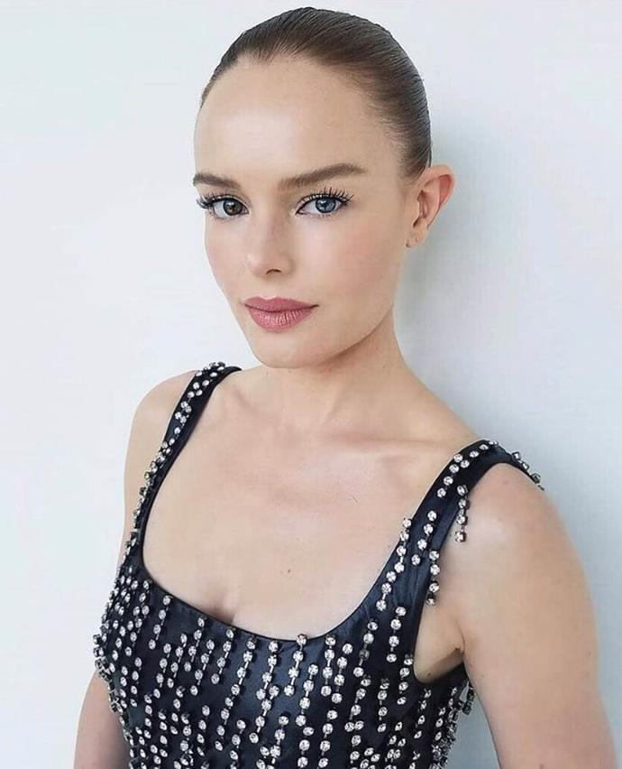 """**HYDRATION IS KEY** <br><br> Given Bosworth travels so much for work, she keeps her skin constantly hydrated to avoid it looking dull or tired on set. """"I really love the [BioDerma wipes](https://www.adorebeauty.com.au/bioderma/bioderma-sensibio-h2o-wipes.html