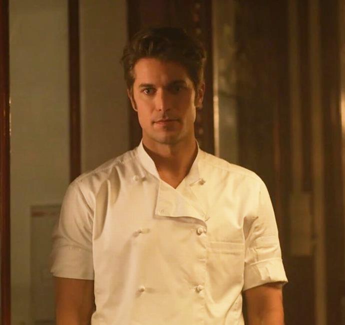 Bravo as Gabriel in *Emily In Paris*. Image courtesy of Netflix.