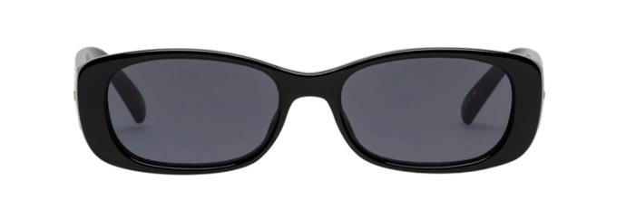 "Unreal! Sunglasses, $79 by [Le Specs](https://au.lespecs.com/products/unreal-shiny-black-lsp1902078?variant=31703182377012|target=""_blank""