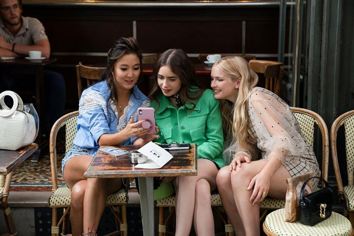 """**Libra:** ***[Emily In Paris](https://www.elle.com.au/culture/emily-in-paris-season-2-24092
