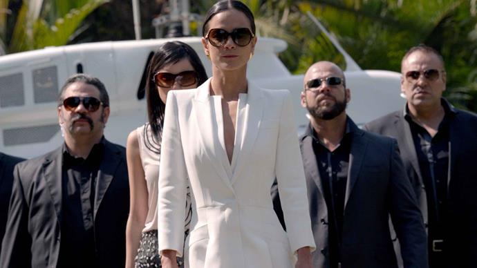 """**Aries:** ***Queen Of The South***<br><br>  Adventurous Aries needs a fast-moving plot and plenty of drama, and that's exactly what this gripping and utterly [underrated series](https://www.marieclaire.com.au/underrated-netflix-shows