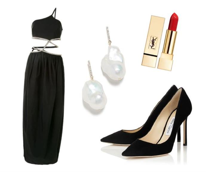 """""""I love a little black dress for feeling confident and chic, and this Christopher Esber piece, with its waist cut-outs and metallic detailing, has got me good. Honestly, I'd hold a rose ceremony just so I could wear it."""" <br><br> — *Sukriti Wahi, digital writer* <br><br> Crystal-Embellished Taffeta Gown by Christopher Esber, $3,238 at [Net-A-Porter](https://www.net-a-porter.com/en-au/shop/product/christopher-esber/one-shoulder-crystal-embellished-cutout-taffeta-gown/1290654