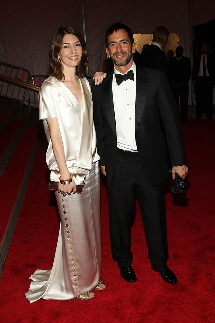 """**Marc Jacobs and Sofia Coppola** <br><br> Jacobs often takes inspiration from supermodels like Kate Moss, but his close friendship with director Sofia Coppola has lasted over 20 years. The two met backstage at Jacobs' premiere """"grunge"""" collection for Perry Ellis in 1992.  <br><br> They soon bonded over similar tastes in art and music, and before long, struck up a friendship. Coppola directed Jacobs' first 'Daisy' fragrance campaign in 2013, and later starred in his final campaign for Louis Vuitton. Jacobs said he was """"attracted to how she looked, her sense of style, I was drawn to her manner, her behaviour, her life, her ambitions and creativity""""."""