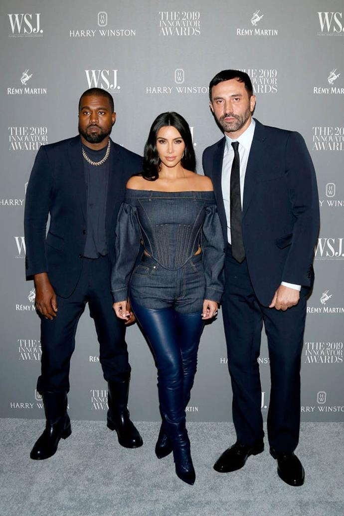 """**Riccardo Tisci and Kim Kardashian** <br><br> When Kim Kardashian West was first recognised in the fashion world, much of it had to do with her relationship with Riccardo Tisci, the former creative director of Givenchy (and current creative director of Burberry). The reality TV star and mogul sported many of Tisci's creations—not limited to her half-a-million dollar couture wedding gown in 2014—but that didn't mean his reputation wasn't unfairly questioned along the way.  <br><br> """"I didn't care what people thought about Kim,"""" Tisci told *[Details](http://www.details.com/blogs/daily-details/2015/02/riccardo-tisci-givenchy-interview.html target=""""_blank"""" rel=""""nofollow"""")* in 2015. """"In the beginning, I met her because of my respect for Kanye, and then I liked her a lot and we became friends. I got killed because of this. But I didn't care."""" In the end, Tisci's work paid off, and Kardashian West is now a highly-regarded figure in the fashion industry."""