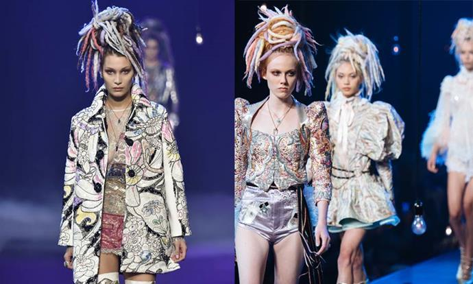 """**Marc Jacobs spring/summer '17 (2016)** <br><br> In 2016, Marc Jacobs' collection for spring/summer '17 featured non-black models wearing dreadlocks, which prompted claims of cultural insensitivity. <br><br>  While Jacobs initially defended his decision, he later wrote on [Instagram](https://www.instagram.com/p/BKgYwsuBHWE/