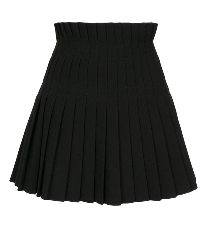 """'Pleated skirt' by Dion Lee, $550 at [Farfetch](https://www.farfetch.com/au/shopping/women/dion-lee-pleated-skirt-item-15704864.aspx