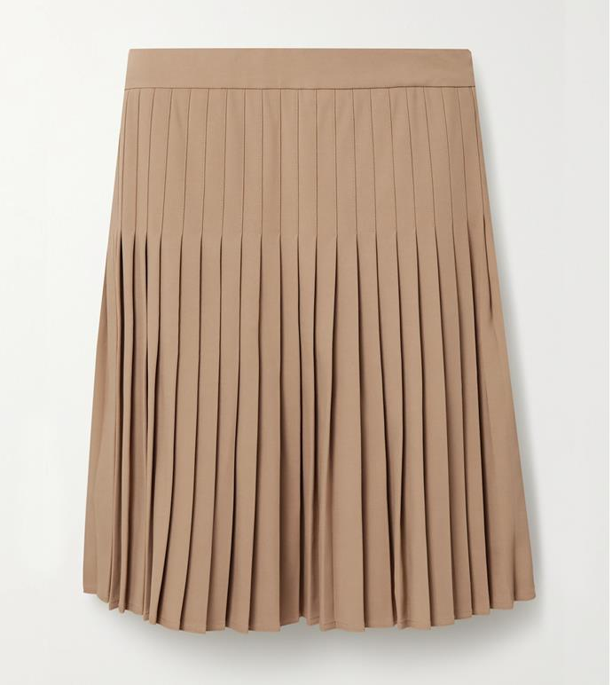 "'Pleated crepe mini skirt' by Peter Do, $1765.36, at [Net-A-Porter](https://www.net-a-porter.com/en-au/shop/product/peter-do/pleated-crepe-mini-skirt/1264499|target=""_blank""|rel=""nofollow"")."
