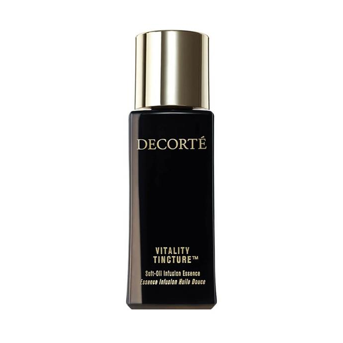 """**SHOP KATE'S SKINCARE HEROES**  <br><br> Decorté Vitality Tincture, $247.50 at [Skin Store](https://www.skinstore.com/decorte-vi-fusion-vitality-tincture-30ml/11588119.html?switchcurrency=AUD target=""""_blank"""" rel=""""nofollow"""")"""