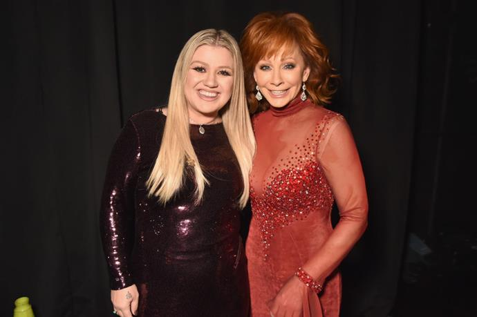 **Kelly Clarkson and Reba McEntire** <br><br> They can both belt out one hell of a tune, but it appears they may have similar taste in men, too. McEntire was married to Narvel Blackstock for 25 years, meaning she was step-mother to Clarkson's recently-separated husband Brendon Blackstock.