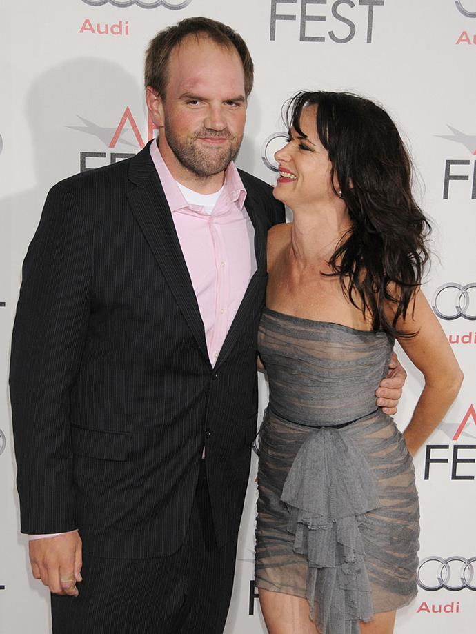 **Juliette Lewis and Ethan Suplee** <br><br> Honestly, nothing is surprising us at this point, but in case you didn't know, Suplee has been married to Lewis' film producer sister Brandy since 2006. Lewis just one of eight siblings-in-law that Suplee inherited, and most are in the film industry. Their father was also the late actor Geoffrey Lewis, so you could say that acting runs in the family.