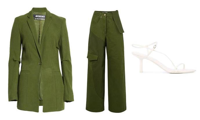 "**Cancer** <br><br> Down-to-earth Cancerians usually prefer familiar silhouettes and low-key looks, but shouldn't be afraid to spruce things up with an unexpected outfit colour or shoe shape. <br><br> *'La Veste Bergamo' blazer by Jacquemus, $484 at [SSENSE](https://www.net-a-porter.com/en-au/shop/product/jacquemus/tablier-hemp-blend-blazer/1215899|target=""_blank""