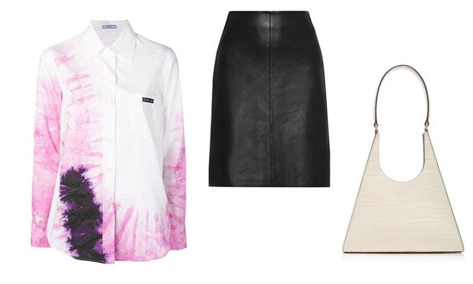 "**Libra** <br><br> If any sign will be willing to experiment with fashion, it's Libra, so trust them to pull off (or at *least* attempt) all of the trickiest trends we'll see in 2020. <br><br> *Tie-dye shirt by Prada, $480 at [Net-A-Porter](https://www.net-a-porter.com/en-us/shop/product/prada/tie-dyed-cotton-poplin-shirt/1138551|target=""_blank""