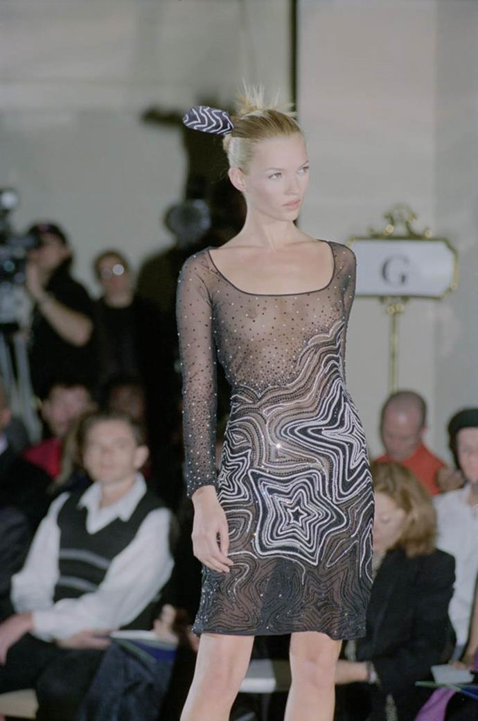 **Versace Haute Couture spring/summer '96**<br><br>  By the mid-'90s, Versace had made it known that conservative fashion definitely wasn't their forte.