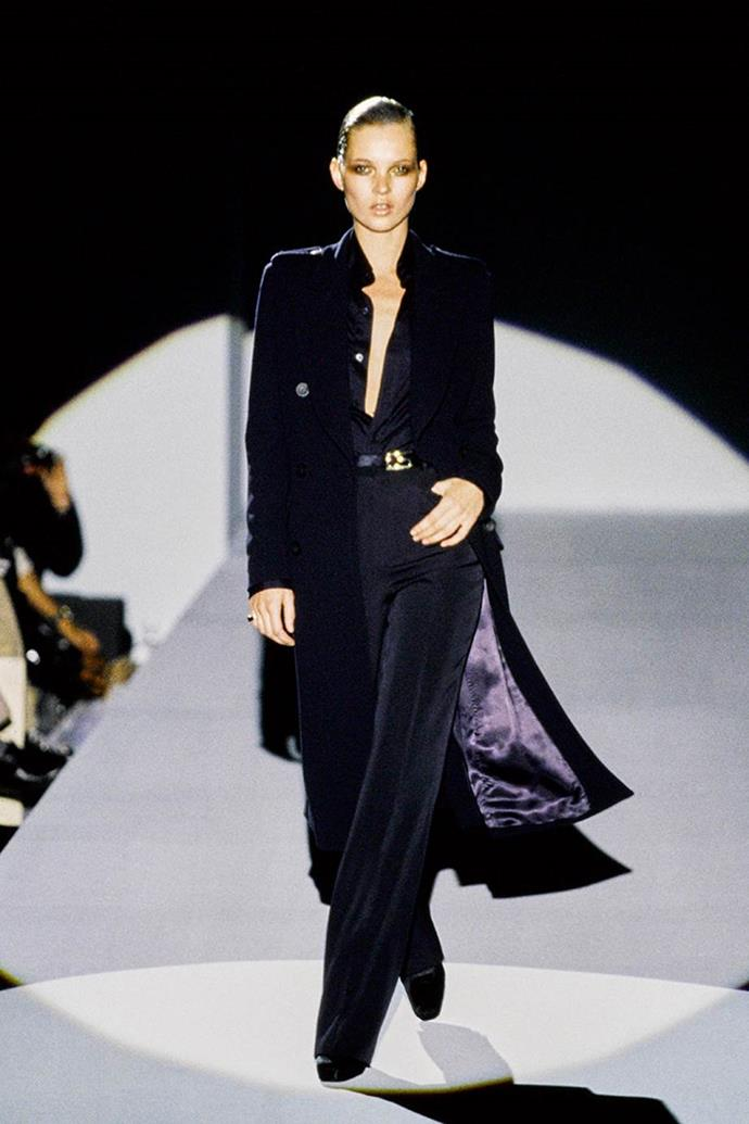 Kate Moss at Gucci autumn/winter '96.