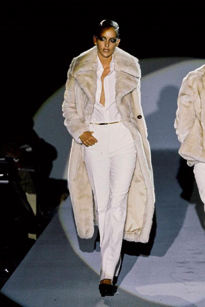 Gucci autumn/winter '96.
