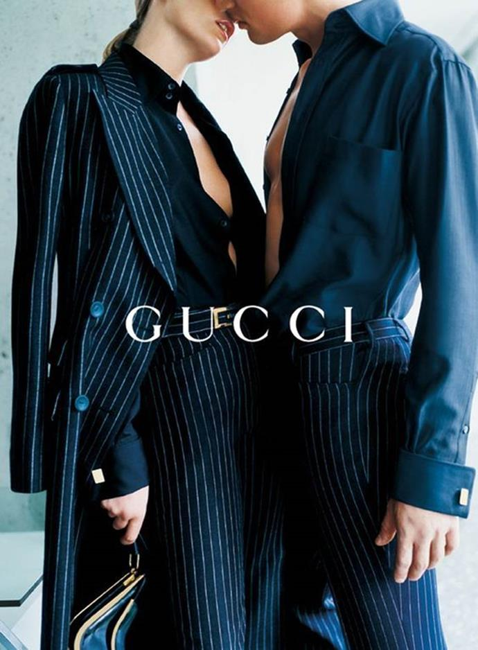 Gucci's autumn/winter '96 campaign, photographed by Mario Testino.