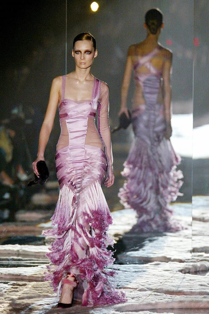 Gucci autumn/winter 2005, Ford's final collection.
