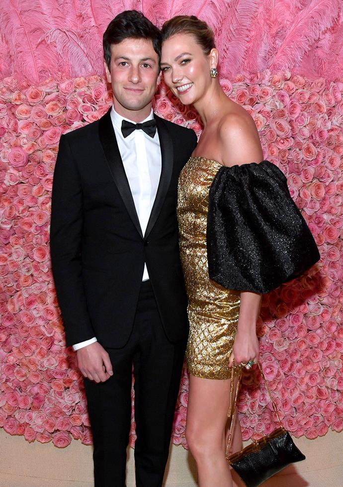 "**Karlie Kloss and Joshua Kushner** <br><br> Kloss and Kushner met at a Victoria's Secret after-party in 2012 with Kloss admitting she fell in love with the businessman instantly. ""Yeah, I do [believe in love at first sight], I was definitely not planning on falling in love [with Joshua]. But I think that's the thing about it. You can't plan or anticipate it."""