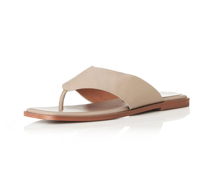 """'Tuesday sandals', $169.95 at [Alias Mae](https://aliasmae.com.au/tuesday.html?color=Natural+Leather