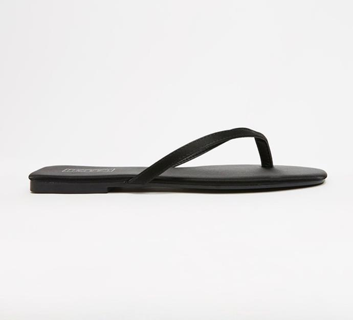 """'Siena' Sandals by Therapy, $29.95 at [The Iconic](https://www.theiconic.com.au/siena-1133859.html
