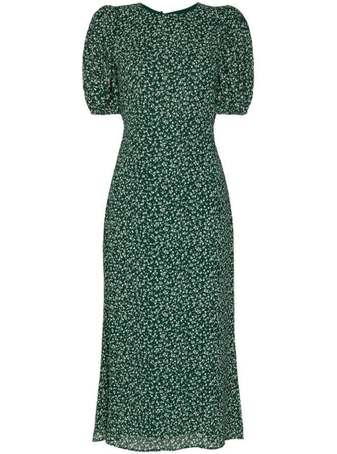 "*Dress code: Casual* <br><br> Palmer Floral Print Dress by Reformation, $492 at [Farfetch](https://www.farfetch.com/au/shopping/women/reformation-palmer-floral-print-midi-dress-item-15692479.aspx?storeid=9359|target=""_blank""|rel=""nofollow"")."