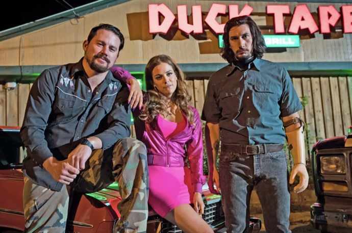 ***Logan Lucky* (2017)** <br><br> After being laid off, the unlucky Jimmy Logan gets his family together to plan an elaborate robbery of the Charlotte Motor Speedway, but can three rookies evade detection when the FBI comes sniffing around? <br><br> Starring Adam Driver, Channing Tatum, Riley Keough, Daniel Craig, HIlary Swank and Katie Holmes, you're bound to enjoy the ride.