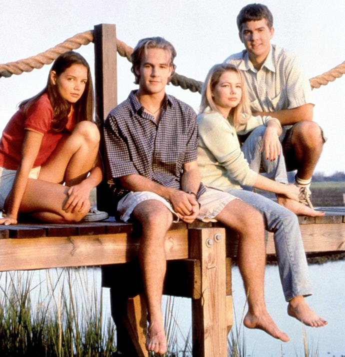 """***Dawson's Creek*** **(1/11/2020)**<br><br>  *[Dawson's Creek](https://www.elle.com.au/culture/dawsons-creek-netflix-australia-24166 target=""""_blank"""")* tells the story of four teenagers as they struggle through adolescence. This is particularly true for 15-year-olds Dawson Leery, an introspective dreamer and Joey Potter, a precocious tomboy unaware of her beauty. Best friends since childhood, they are about to enter that confusing time in life where nothing is the way it was and nothing is as it seems."""