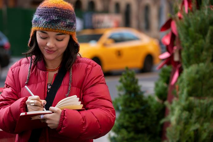 ***DASH & LILY*** **(10/11/2020)**<br><br>  Opposites attract at Christmas as cynical Dash and sunny Lily trade messages and dares in a red notebook they pass back and forth around New York City.