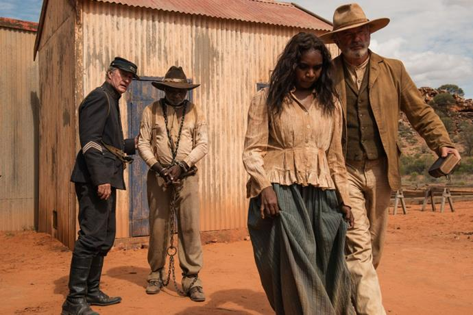 ***Sweet Country*** **(7/11/2020)**<br><br>  An Indigenous Australian man from Australia's Northern Territory goes on the run after he kills a white man in self-defence.