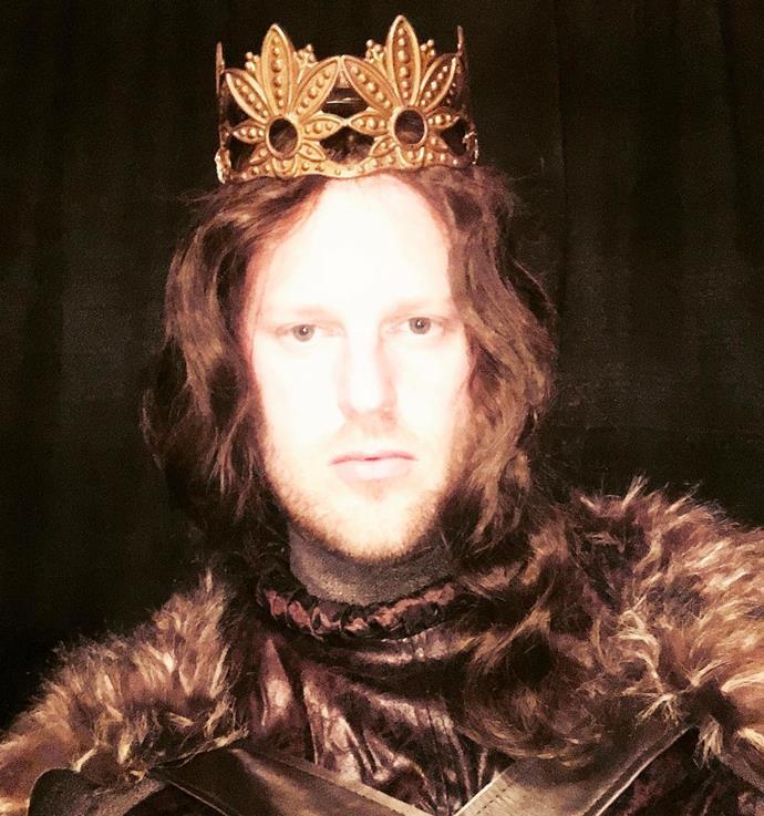 Bobby Berk as Jon Snow from *Game Of Thrones*.