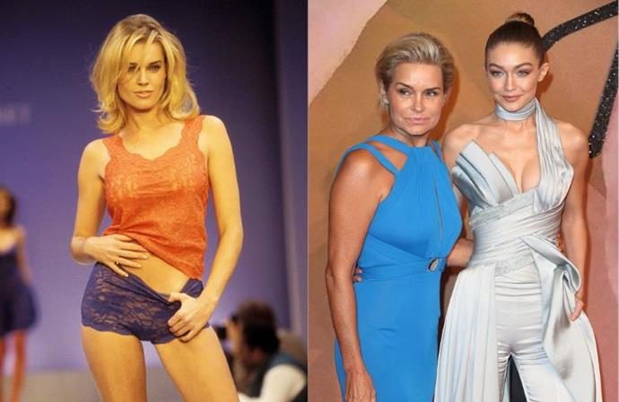 "**Who:** Rebecca Romijn and Yolanda Hadid <br><br> Things got personal when Rebecca Romijn was accused of saying Kendall and Gigi weren't ""true supermodels."" She told ET Online about how social media was disrupting the fashion industry.   <br><br> ""It is frustrating. I know a lot of fashion people—legitimate fashion people—can't stand it. Hate that these, you know, social media stars are now the supermodels in fashion. They are not true supermodels."" <br><br> Yolanda Hadid was quick to stick up for her daughter and Jenner on Twitter, saying: ""It's THEIR hard work and daily commitment to their profession that got them where they R today #NoParentsInvolved"". When she herself was called out for throwing ""shade"", she elaborated: ""did you even bother to see what she said on entertainment tonight? No need 2 throw shade on hard-working children."" <br><br> Romijn then posted an apology to the girls, saying ""don't believe the #clickbait. Never talked smack about you. Both amazing & beautiful"", to which Yolanda responded again with, ""they accomplished more at half your age in the fashion industry."" Ouch. <br><br> Not long after Romijn told *PEOPLE* that she can't believe Yolanda got so involved in the debate. ""First of all, her daughters' names never came into the original conversation. That happened after the fact. And I was speaking purely about how fashion shouldn't be following social media. Fashion should be leading the way."" She continued. ""I just couldn't believe that she got so involved. I couldn't believe that the mum got so involved."""