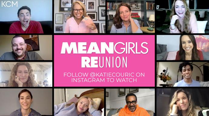 ***Mean Girls*** <br><br> In an attempt to promote voting in the upcoming U.S. presidential election, the cast of *Mean Girls*, including Tina Fey, Lindsay Lohan, Rachel McAdams, and Amanda Seyfried, assembled virtually for a surprise reunion to help get the word out. As predicted, it was so fetch.
