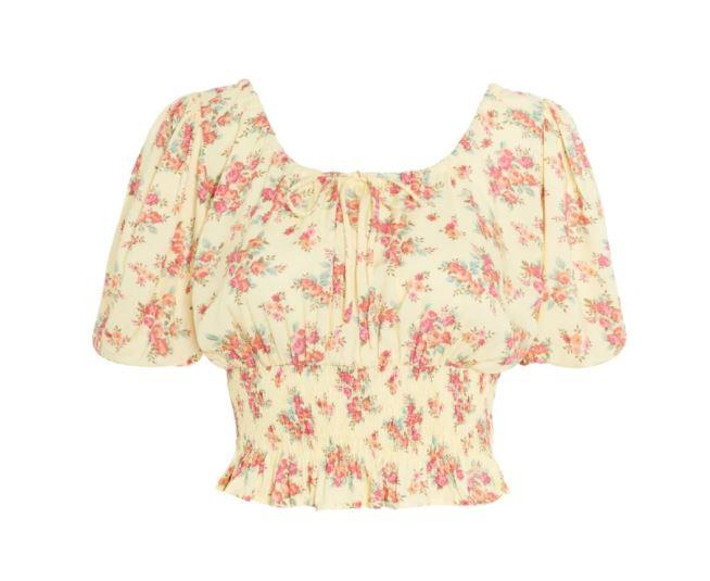 """Anne Laure Top, $149 by [Faithfull The Brand](https://au.faithfullthebrand.com/products/anne-laure-top
