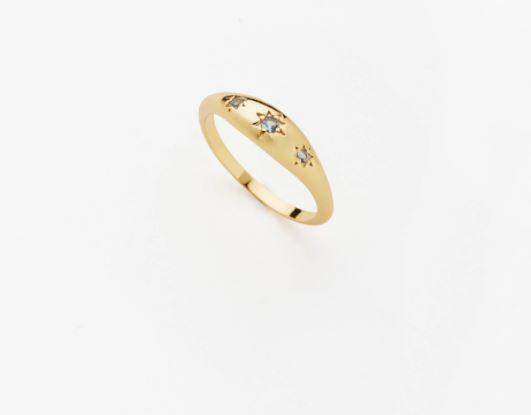 """Seneca Ring, $189 by [Reliquia Collective](https://reliquiacollective.com/collections/fingers/products/seneca-ring-in-blue