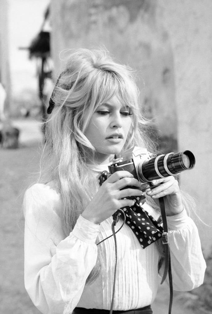 **1965: Brigitte Bardot's bouffant and bangs**<br><br>  French film icon Brigitte Bardot's signature bouffant and tousled bangs ruled the mid-'60s and remain stylish to this day.