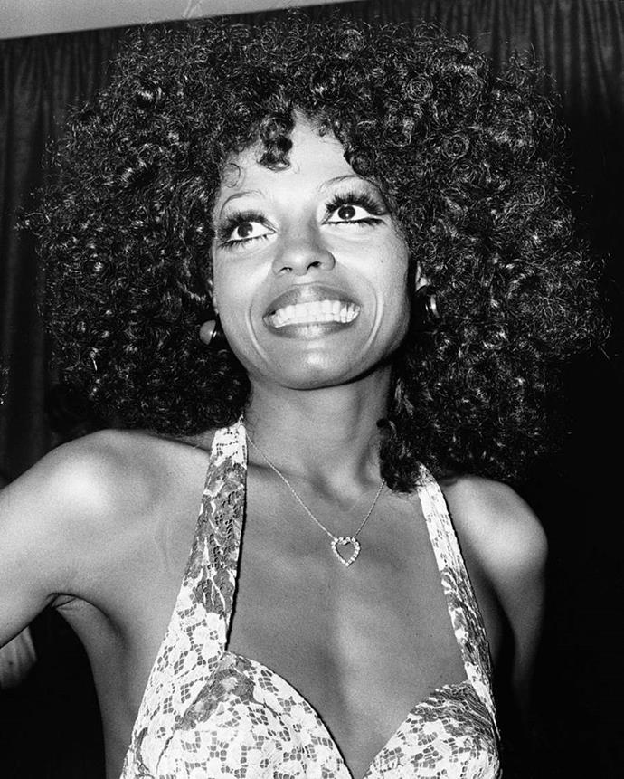 **1973: Extra long lashes**<br><br>  Dramatic lashes took centre stage in 1973, pioneered by the likes of the iconic Diana Ross, who shunned the natural-looking makeup trend of the time.