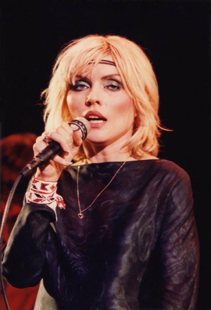 **1980: Statement eyeshadow**<br><br>  A decade of big hair and bold makeup, the '80s started with a bang, led by Blondie's Debbie Harry and her statement-making eyeshadow.