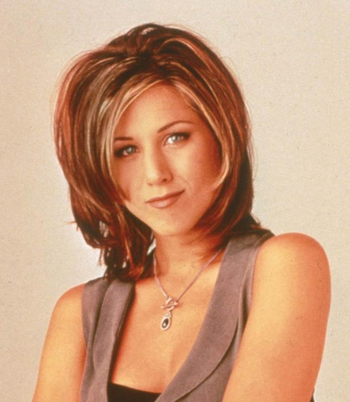 **1995: 'The Rachel' haircut**<br><br>  When it comes to '90s hair, it doesn't get much more iconic than Jennifer Aniston's 'The Rachel', a layered, face-framing look women took to their hairdressers in droves.