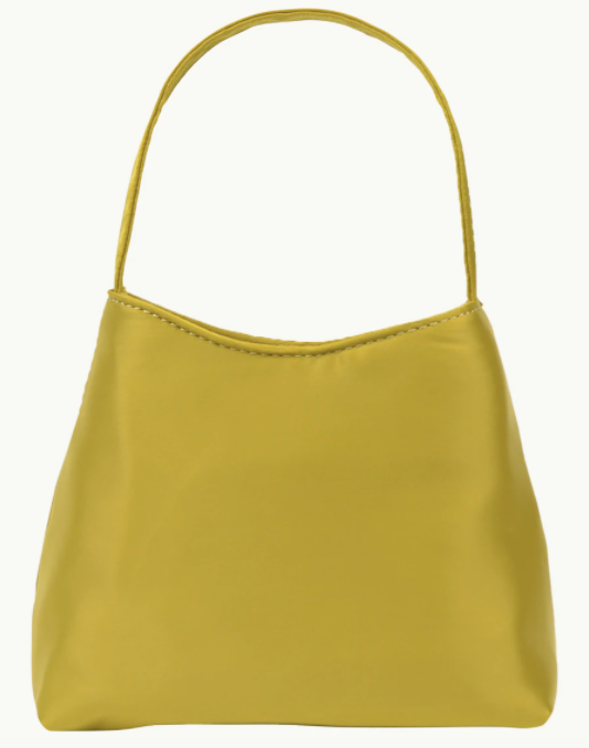 """Mini Chloe Satin Bag, $139 by [Brie Leon](https://brieleon.com/collections/bags/products/the-mini-chloe-bag-matcha-satin