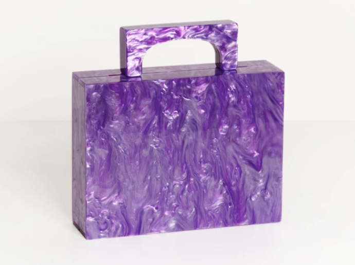 "Alexa Bag by Respiro, $279 at [Valet Studio](https://valetstudio.com/collections/bags-from-respiro-studio/products/alexa-bag-in-purple|target=""_blank""|rel=""nofollow"")."